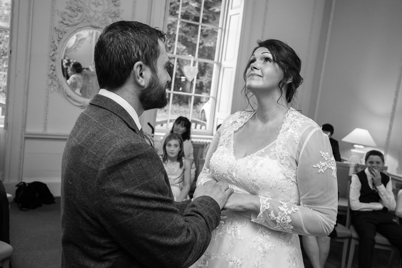Durham registry office wedding photography
