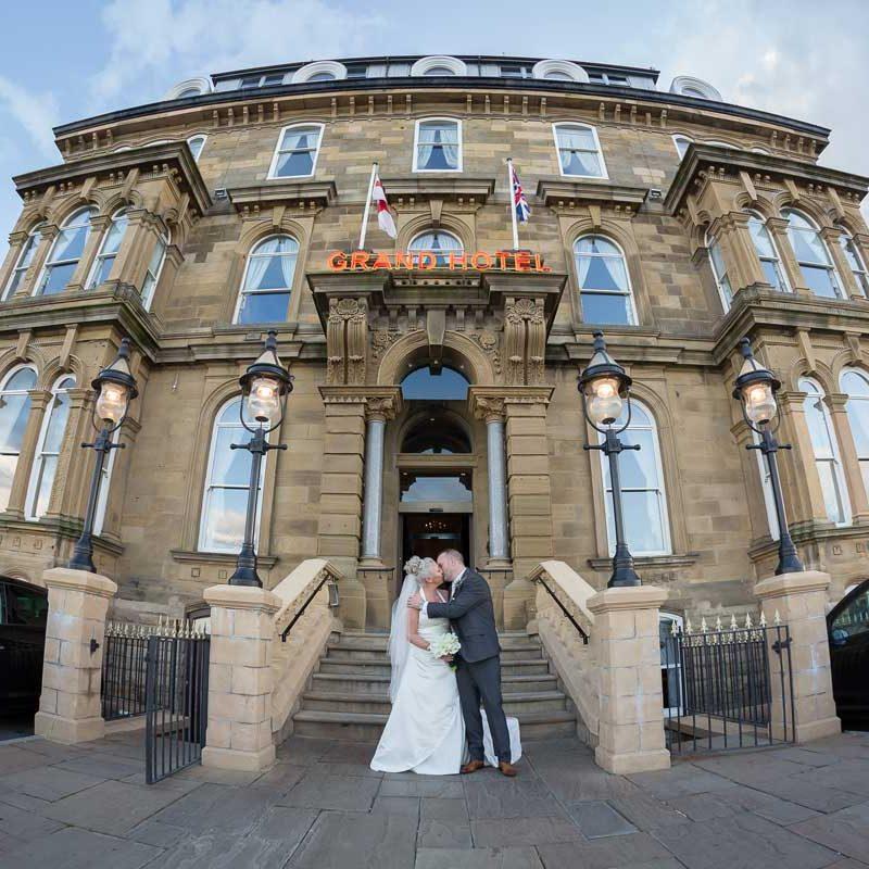 The Grand Hotel, Tynemouth Wedding Couple